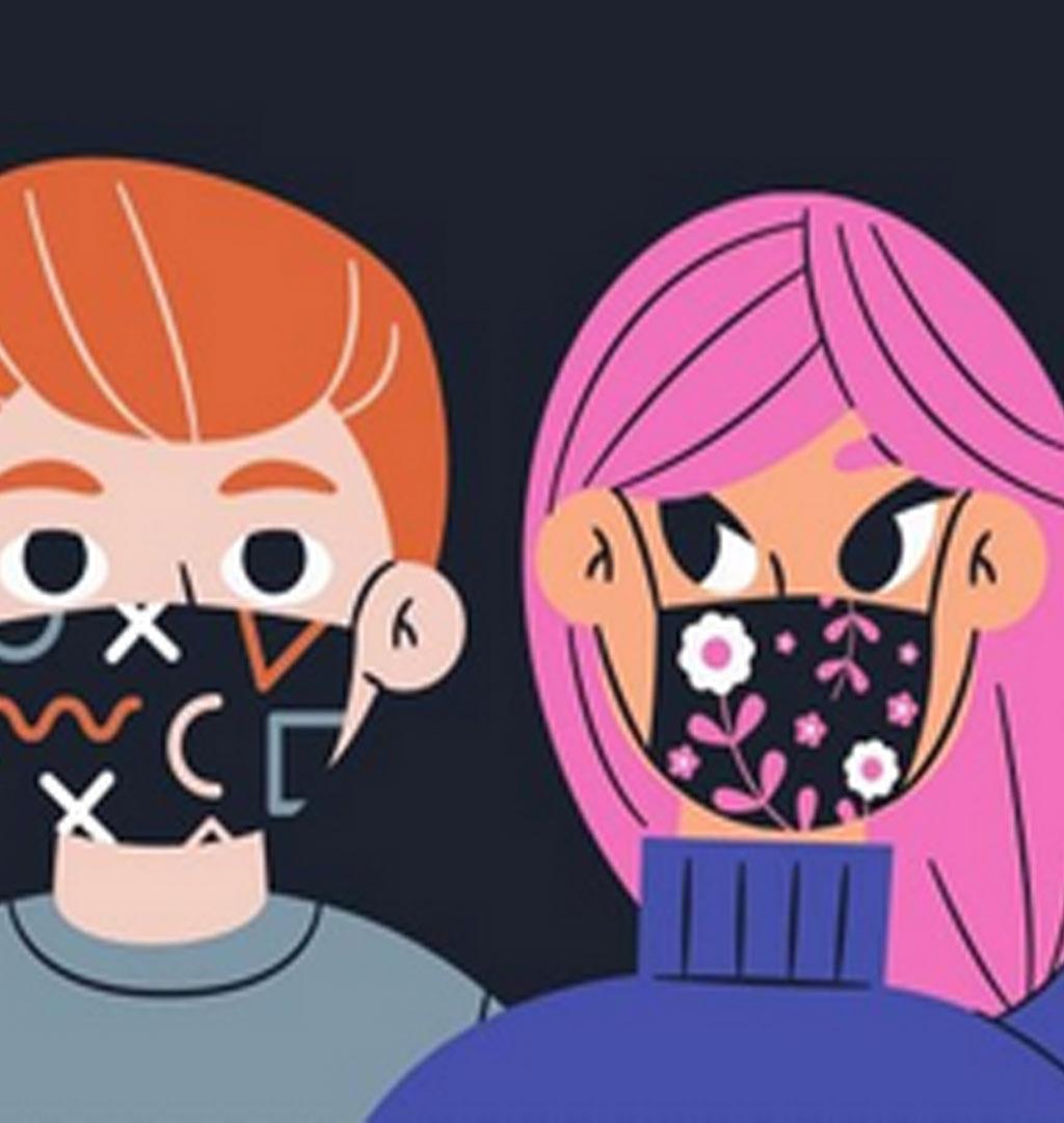 Concorso di mascherine fantasiose con Pro Loco e Oratorio di Scalenghe