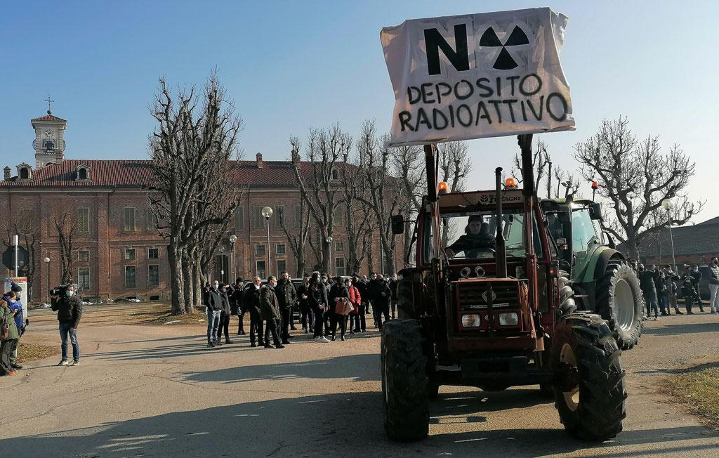 Proroga osservazioni deposito rifiuti nucleari a Carmagnola, Sogin dice no
