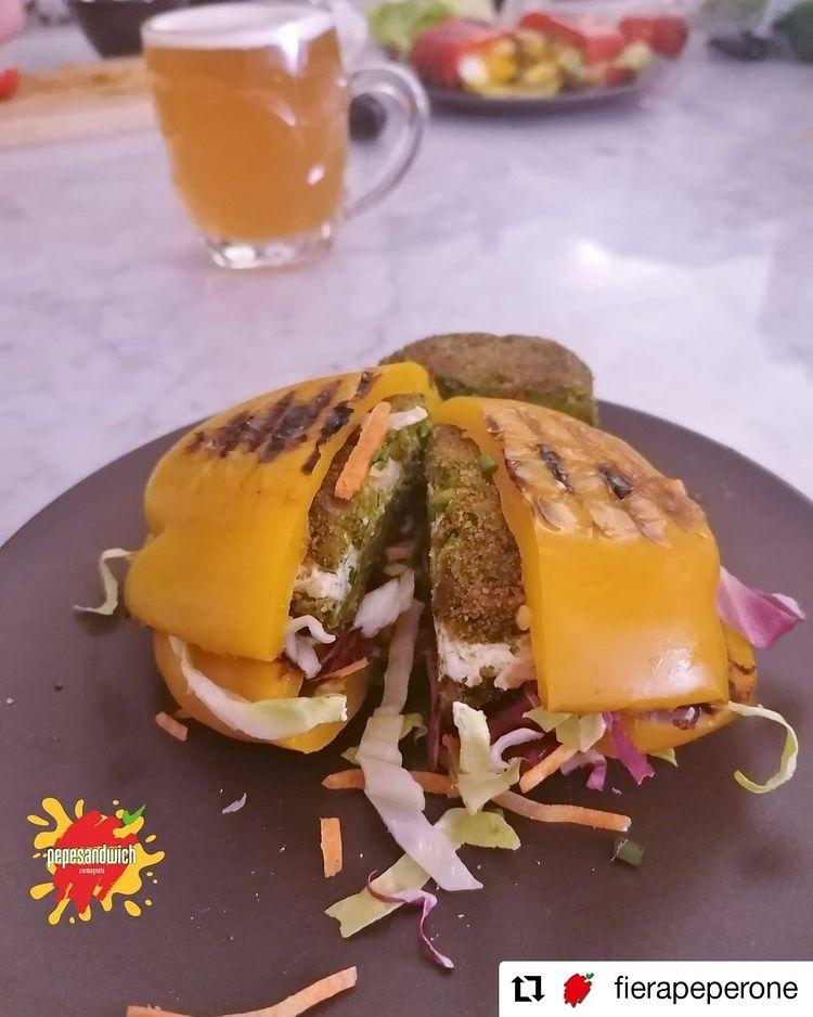 Il pepesandwich è la novità di Carmagnola, in attesa della Fiera del Peperone