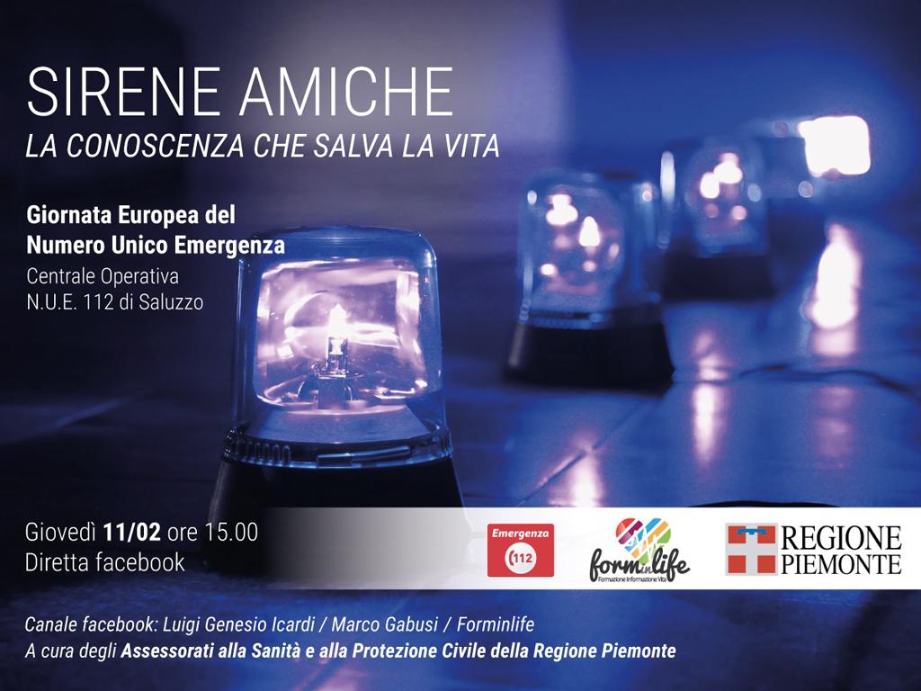 Sirene amiche: domani a Saluzzo per scoprire la centrale del 112
