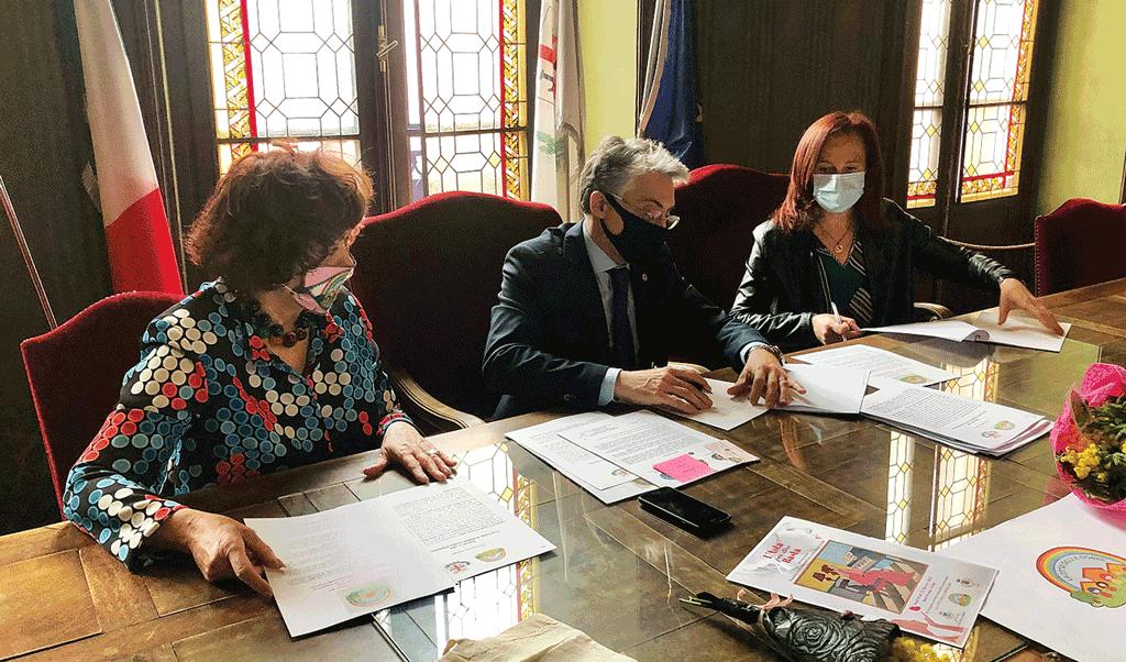 Castagnole ad Alba per la firma della Carta di Intenti contro il femminicidio