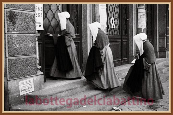 Foto storiche bottega ciabattino voto donne pancalieri la pancalera