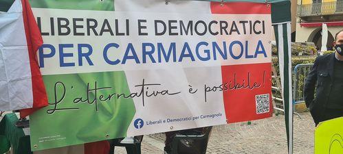 Liberali e democratici per Carmagnola, confronto con la popolazione
