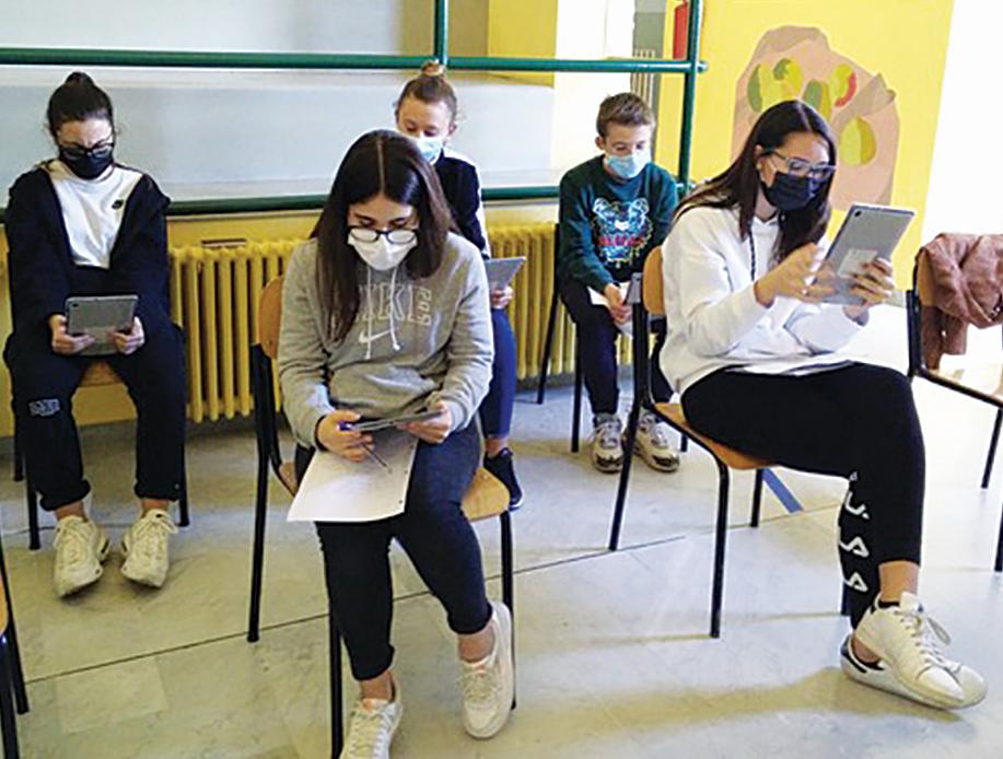 Mobilità virtuale tra studenti di Moretta e i coetanei della Croazia