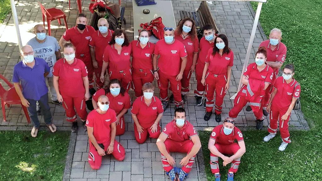 Volontari-Croce-Rossa-Racconigi-anno-Covid-la-pancalera