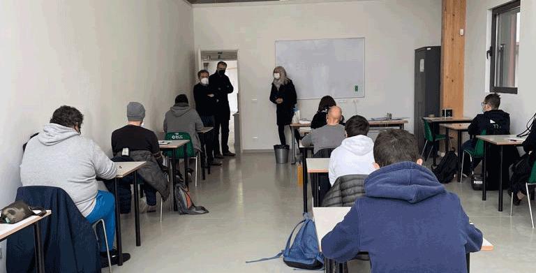 Sono 12 i partecipanti al corso di formazione professionale di Carmagnola