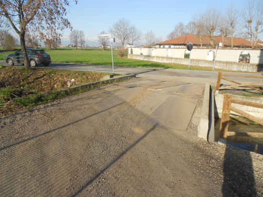 Caramagna, lavori al ponte sul Canale del Mulino e manutenzione aree gioco
