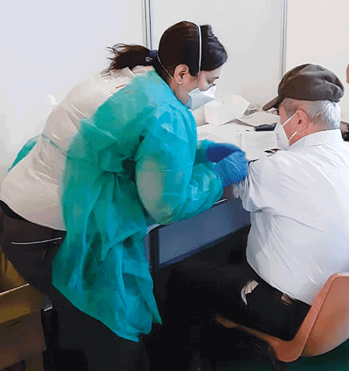 Oltre 100 mila vaccini somministrati ad oggi nell'Asl Cn1