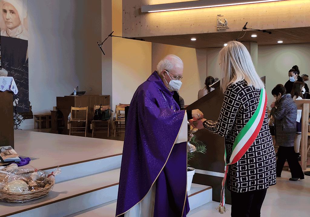 Nosiglia ha celebrato la messa a borgo Salsasio di Carmagnola
