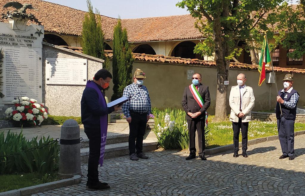 25-aprile-polonghera-don-Gianluigi-Bruno-Magliano-Gianmaria-Bosco,-il-consigliere-Livio-Libra-Domenico-Sandrone-giornale-notizie-la-pancalera