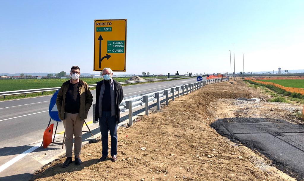 Domani riapre a Marene il casello autostradale di ingresso in A6