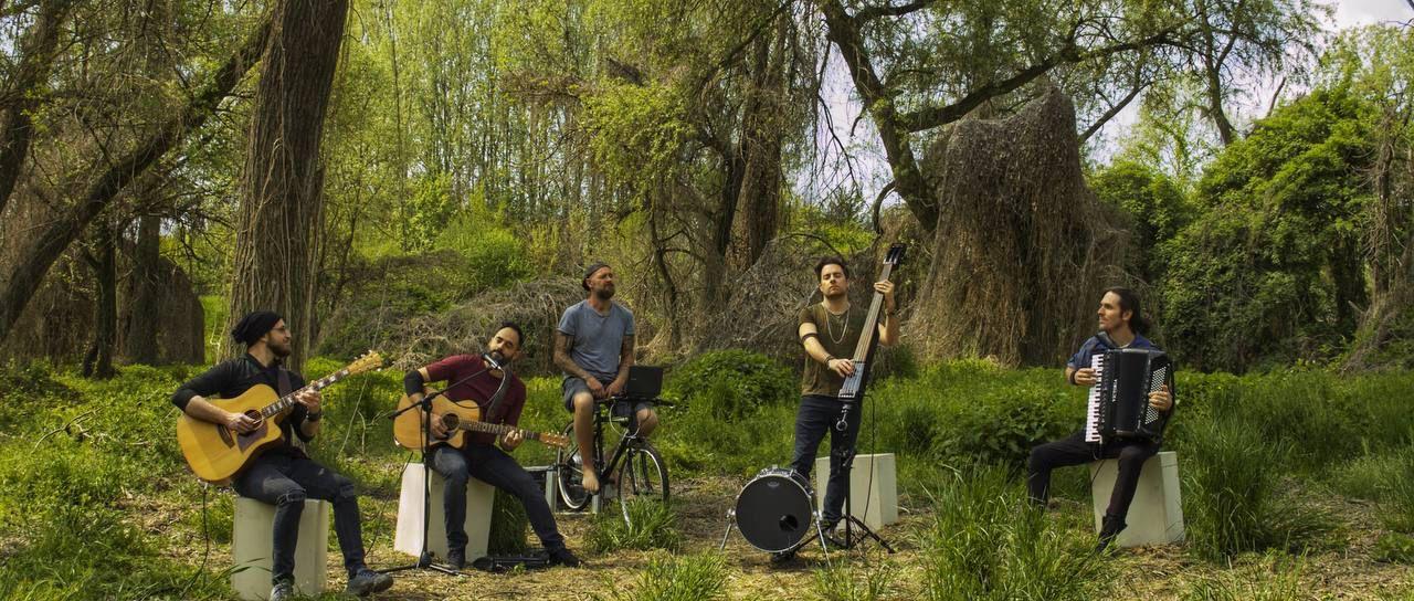 Musica a pedali con i Magasin du Cafè per la Giornata della Terra