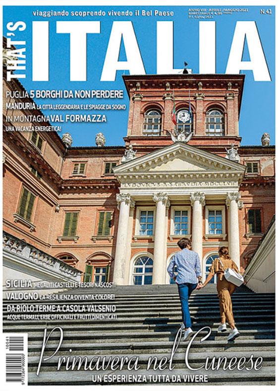 La rivista That's Italia racconta il viaggio tra le città d'arte del cuneese