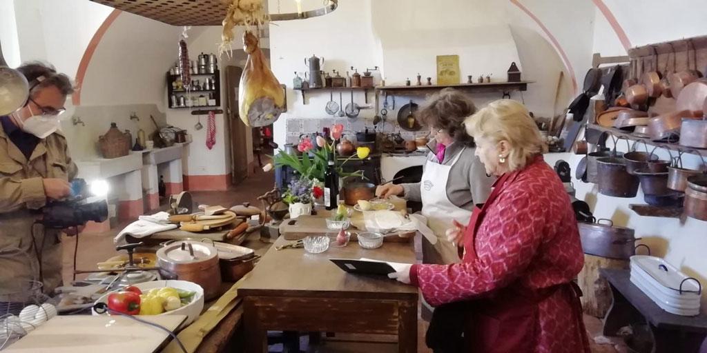 Reportage sul Castello di Pralormo in onda su GRP e su Youtube