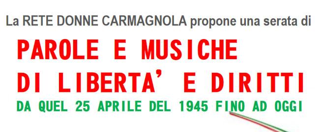 Video della Rete Donne Carmagnolesi per il 25 aprile