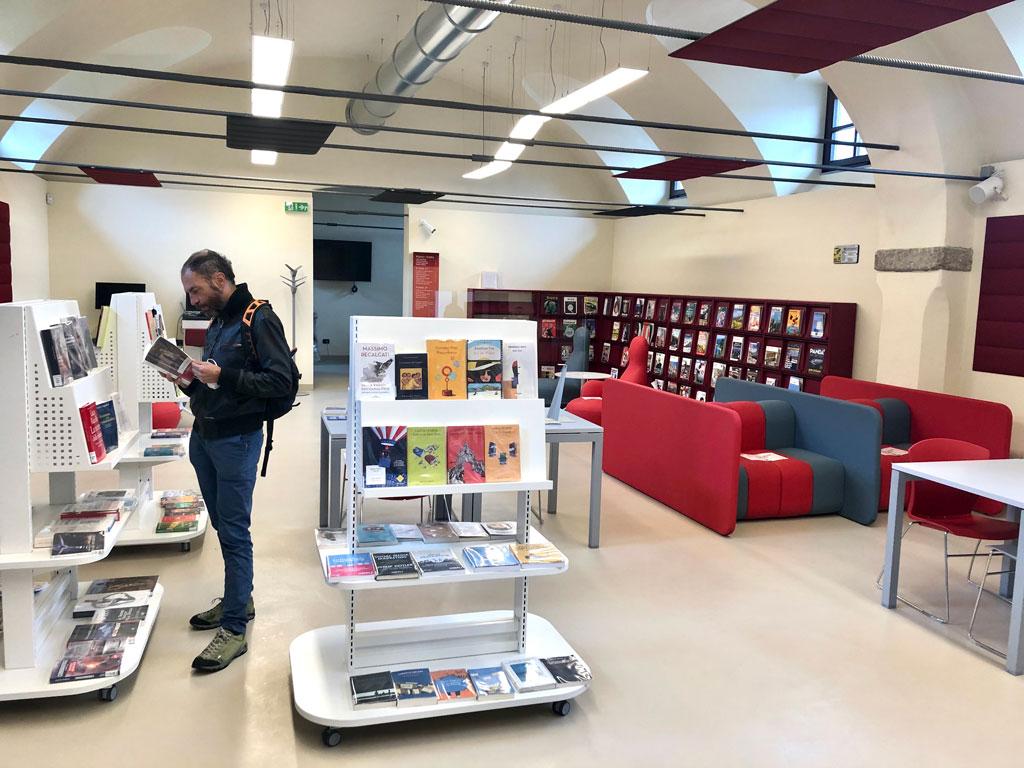 Apre al pubblico la nuova biblioteca Lidia Beccaria Rolfi di Saluzzo