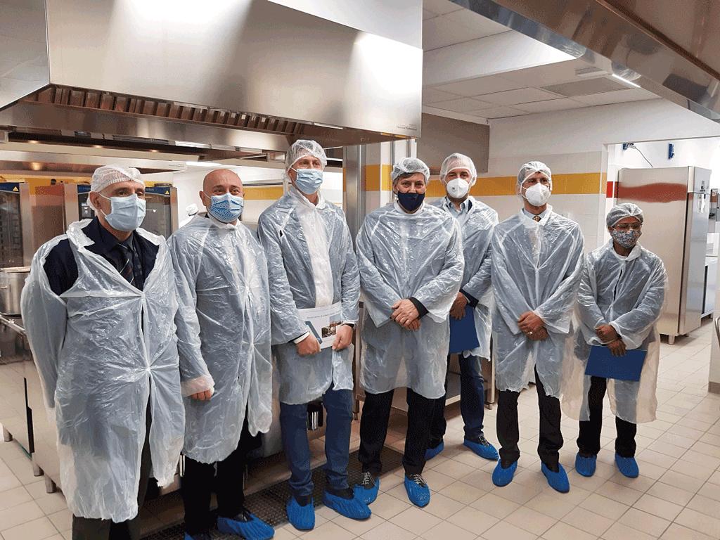 L'assessore regionale Icardi ha inaugurato il centro cottura all'ospedale di Saluzzo