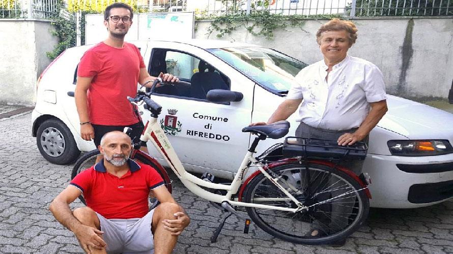 Due e-bike a noleggio a Rifreddo, per cittadini e turisti