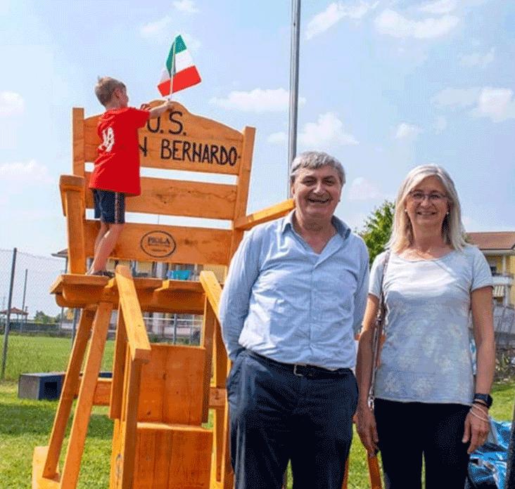 Festa all'Associazione San Bernardo, affetto per il fondatore Renzo Agasso