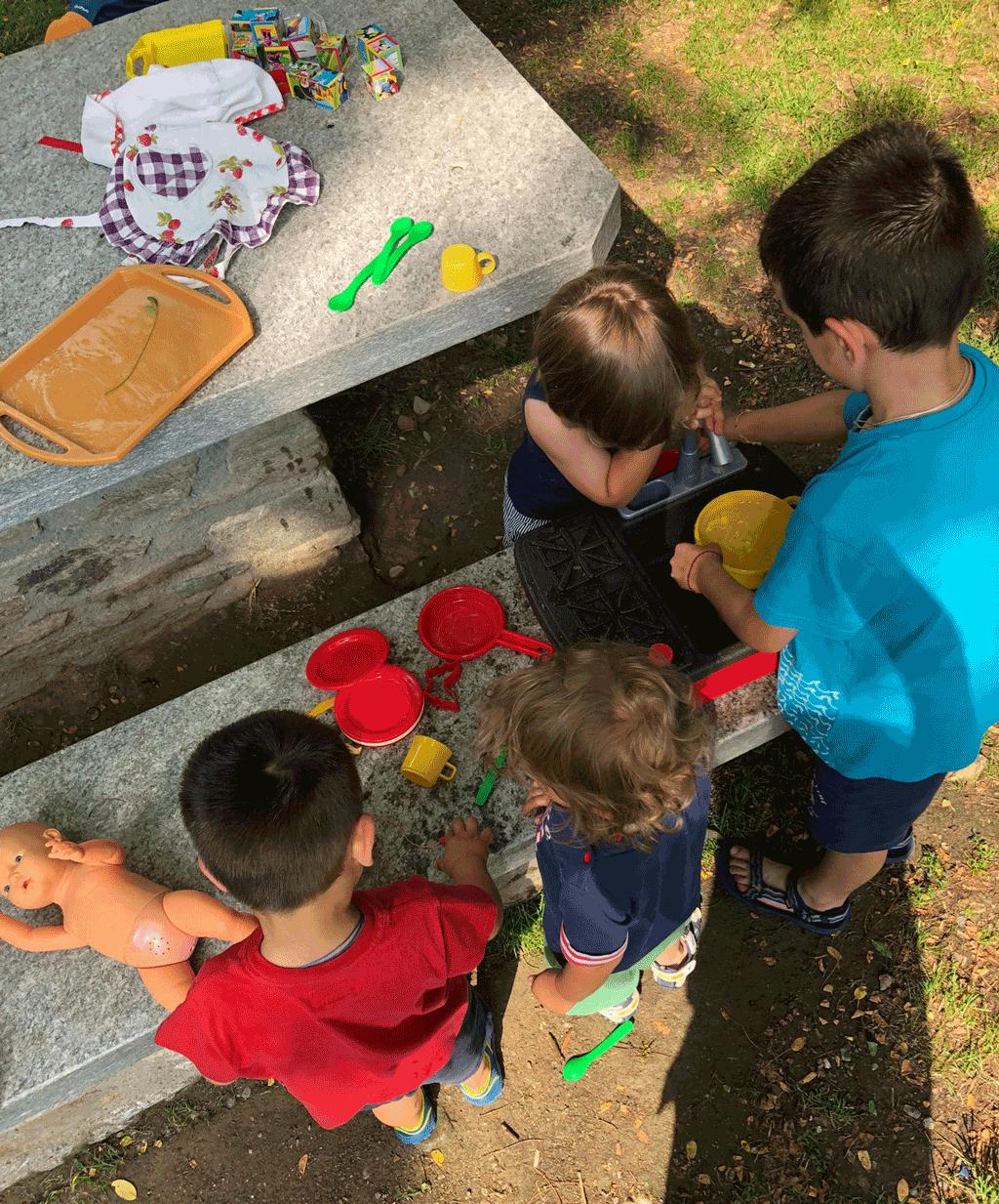 Ludoteca al parco di Castellar per bambini e ragazzi dai 3 ai 13 anni
