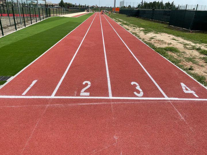 Realizzate piste di atletica e salto in lungo a Caramagna