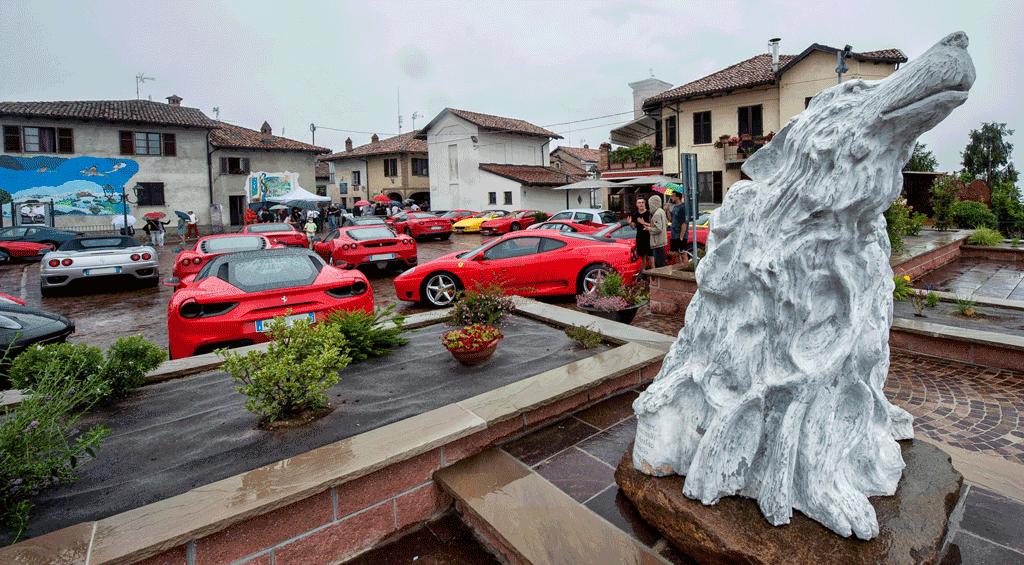 52 Supercar in tour tra Langhe e Roero, soddisfatti i radunisti