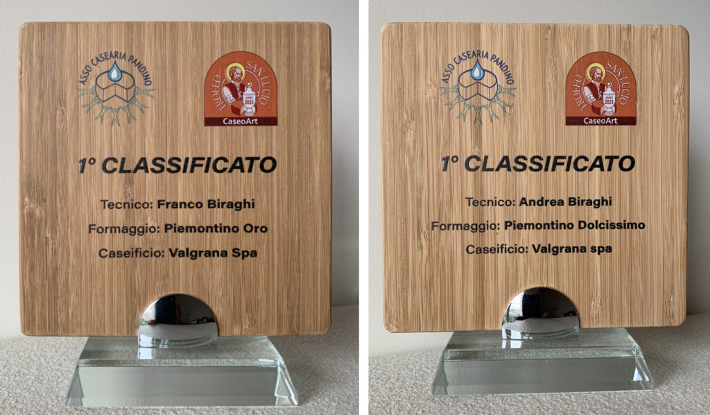 Targhe trofeo San Lucio Valgrana