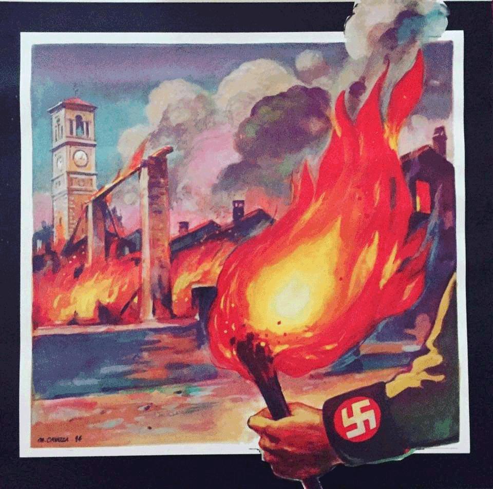 Salsasio commemora l'incendio del borgo  del 25 luglio 1944