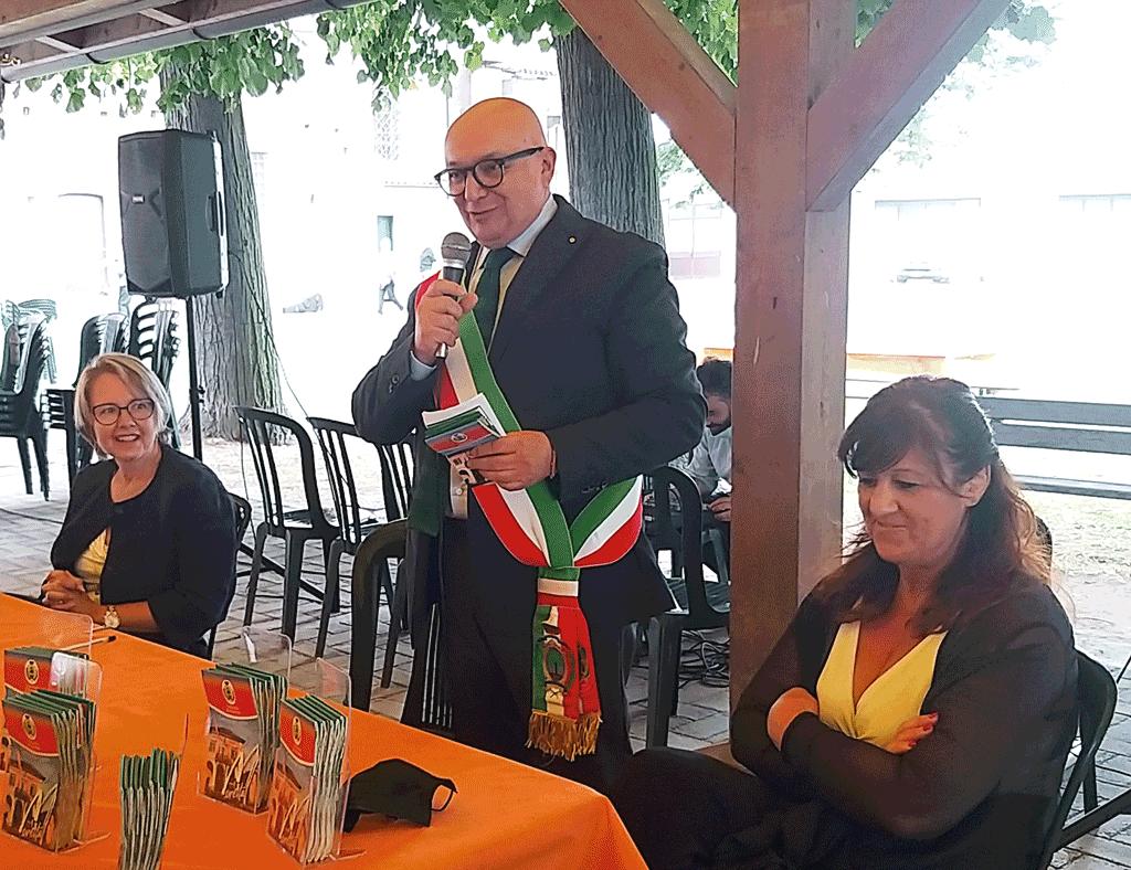 Il sindaco Gianni Gatti ha presentato la nuova cartina di Moretta