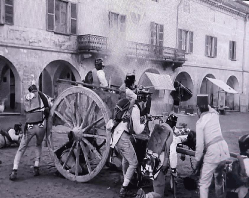 Un filmato ricorda i film famosi girati a Carignano