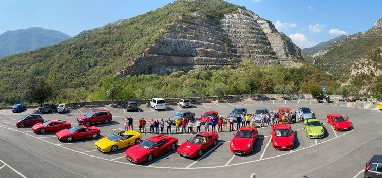 Raduno Supercar Toirano sport rally team carmagnola la pancalera