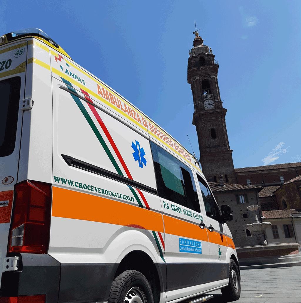 Saluzzo conferirà la cittadinanza onoraria alla Croce Verde