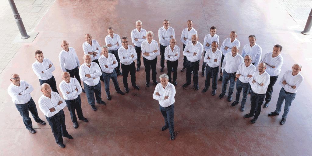 Concerto del Coro Città di Carignano per il 40esimo anniversario del gruppo