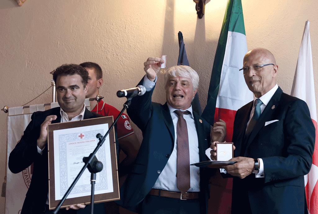 CRI Vigone, Medaglia di Benemerenza a Michelangelo Grella