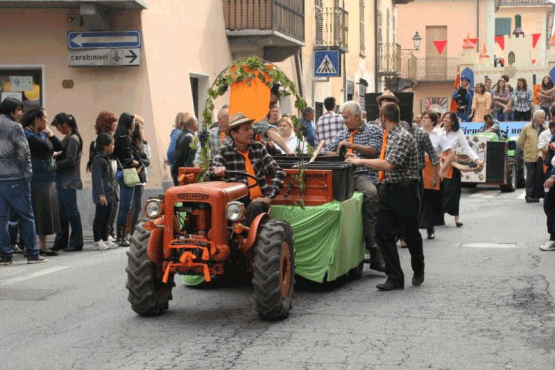 Sagra dell'Uva a Bricherasio, un mese ricco di eventi
