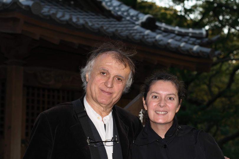 Grazia Toderi e Gilberto Zorio panchina artista vigone la pancalera