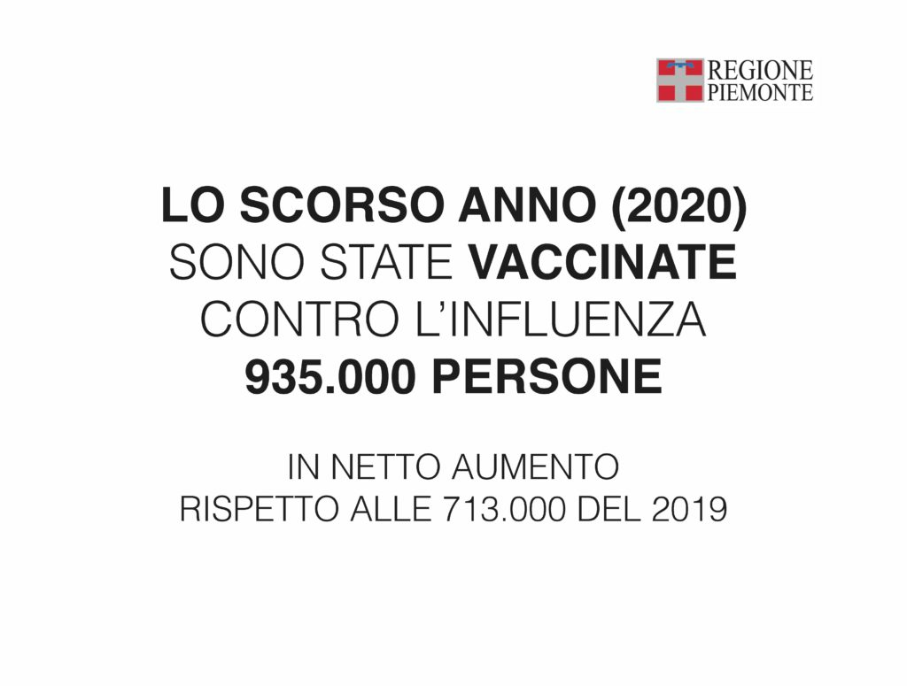 Influenza piemonte vaccino la pancalera