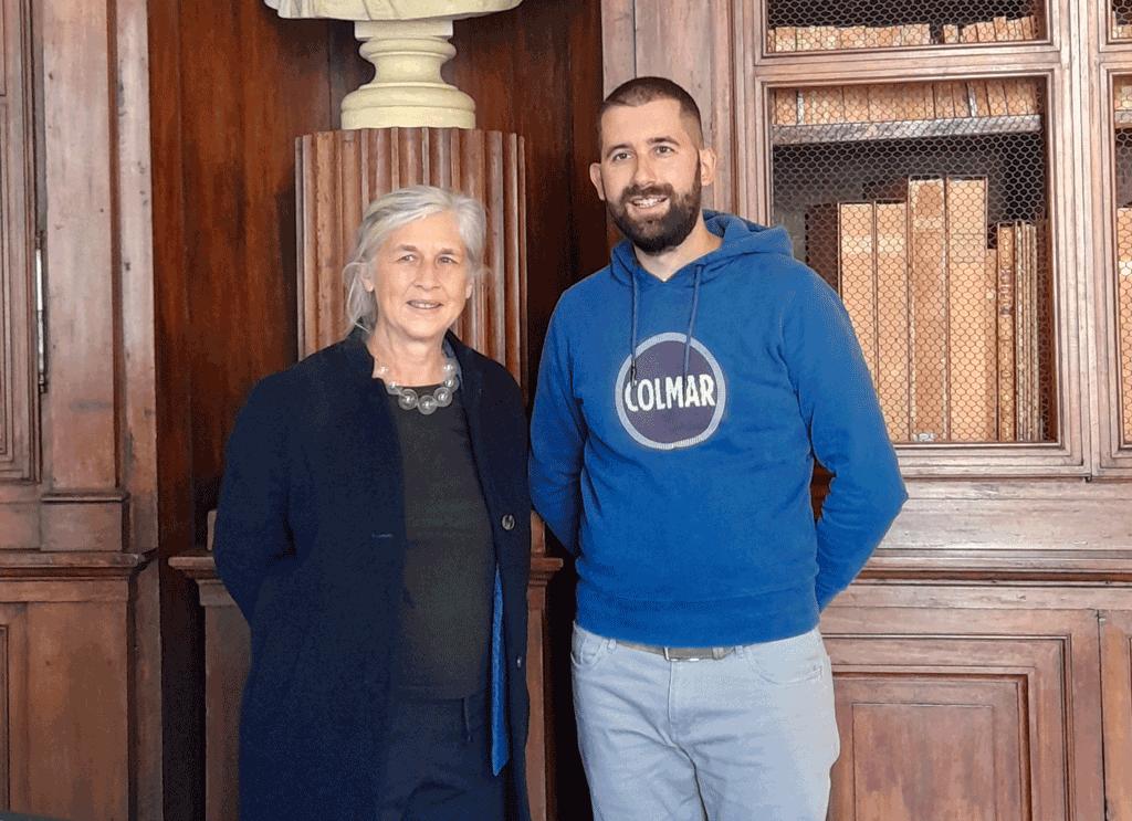 Da Parigi apprezzamento per i fondi storici della biblioteca di Saluzzo