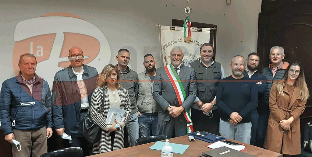 Casalgrasso, prima seduta del Consiglio Comunale con il sindaco Giovanni Donetto