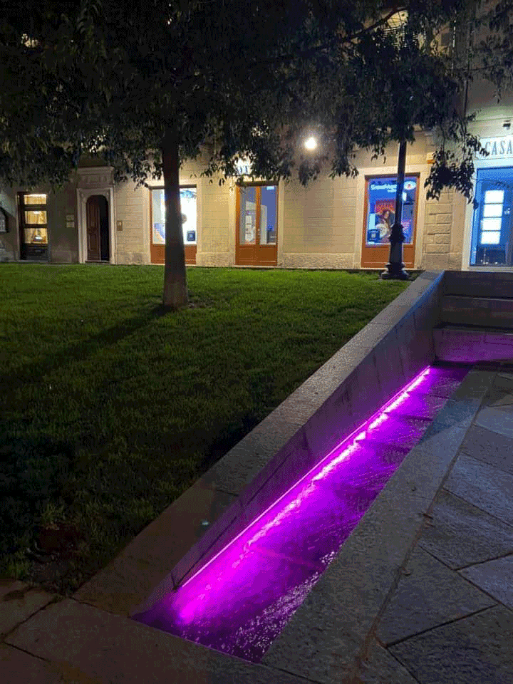 Saluzzo e Rifreddo, monumenti in rosa per sensibilizzare sul tumore al seno