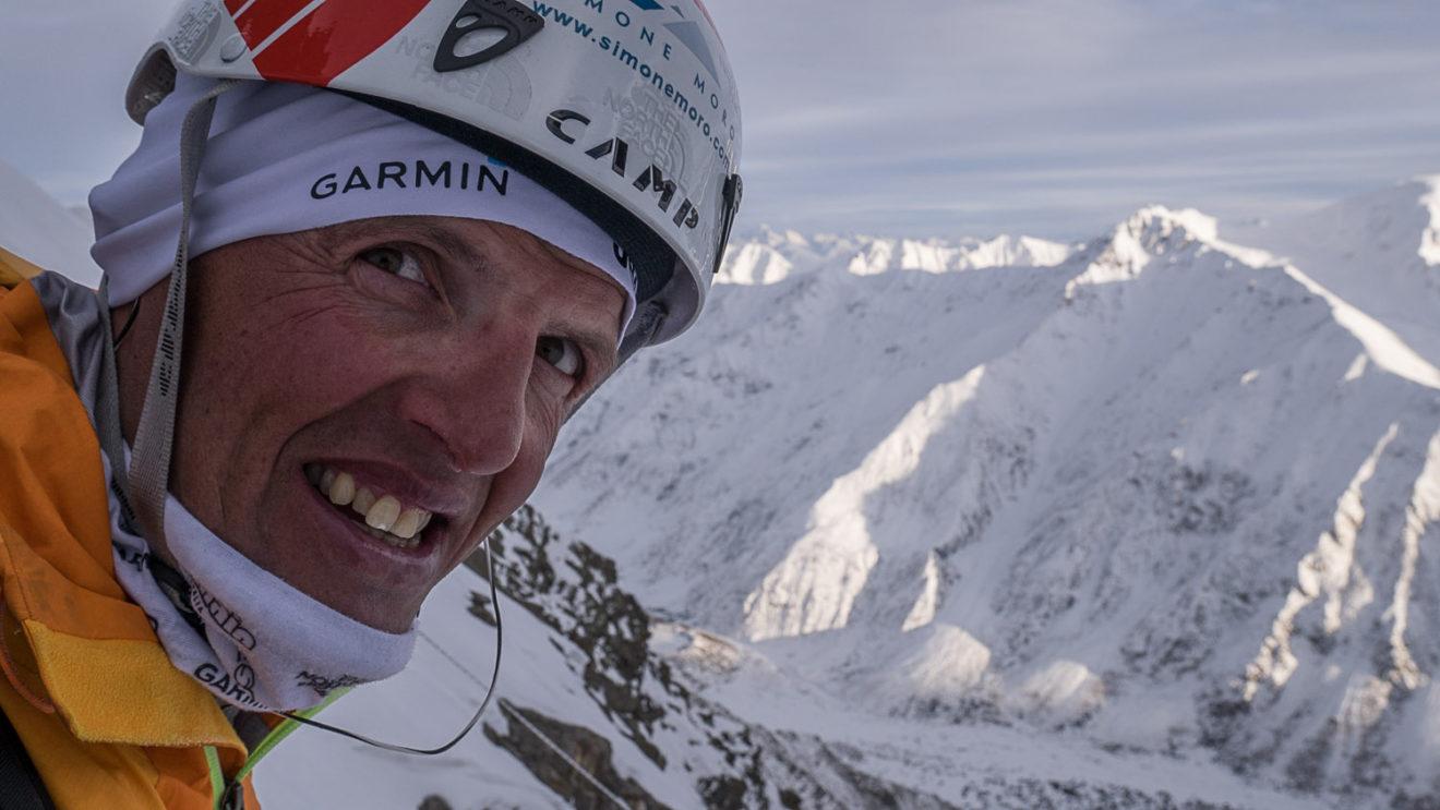 Simone Moro a Cuneo per parlare di alpinismo invernale ad alta quota