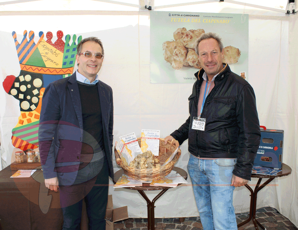 Carignano, promozione del territorio ieri alla Festa del Ciapinabò